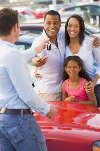 Sell a car to a family, thirty minutes